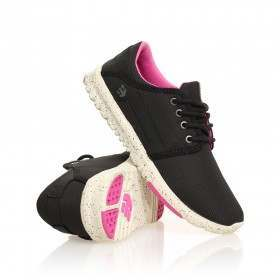 Etnies Ladies Scout Shoes Black/Black/Pink