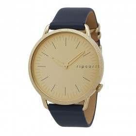 Ripcurl Super Slim Watch Gold Leather