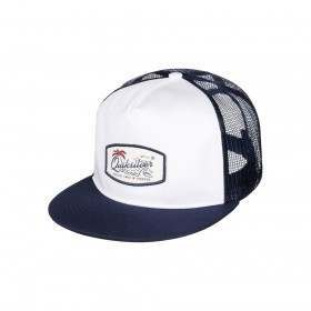 Quiksilver Concentrated Trucker Cap White