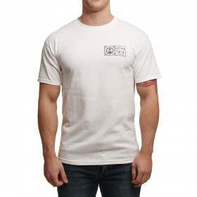Captain Fin Filagree Tee White