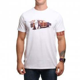 Animal Woody Tee White