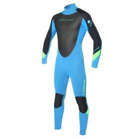 CSKINS Youth Surflite BZ 5/4/3 Winter Wetsuit Cyan
