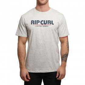 Ripcurl Obvious Tee White Marle