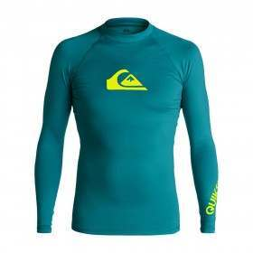 Quiksilver All Time Long Sleeve Rash Vest Morocco