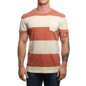 Quiksilver Maxed Out Hero Tee Burnt Sienna