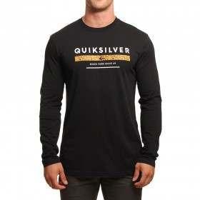 Quiksilver Under Score L/Sleeve Top Black