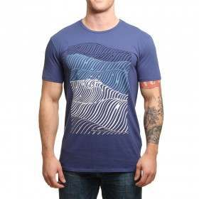 Vissla Hells Swells Tee Light Navy