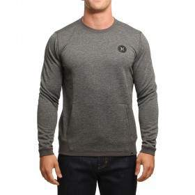 Hurley Dri-Fit Disperse Crew Charcoal Heather
