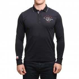 Oxbow Paco L/S Polo Shirt Noir