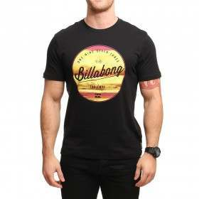 Billabong Rounders Tee Black
