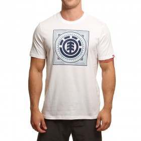 Element Spurred Tee Optic White