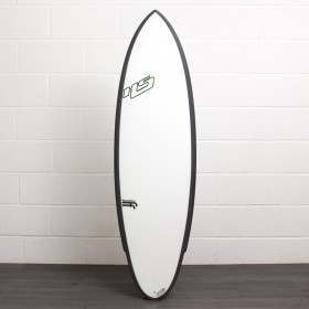 HAYDEN SHAPES SHRED SLED FF Clear Carbon 6ft 2