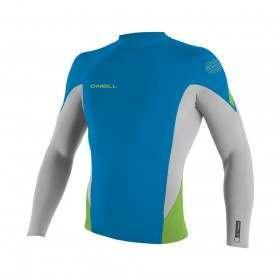ONeill Hyperfreak 1.5MM Long Sleeve Wetsuit Top Bl