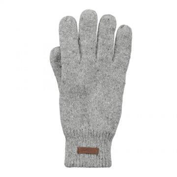 Barts Haakon Gloves Heather Grey
