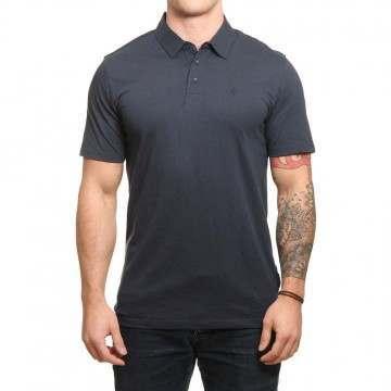 Volcom Wowzer Polo Shirt Navy