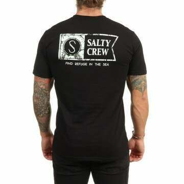 Salty Crew Wheelhouse Tee Black
