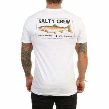 Salty Crew Steelhead Tee White