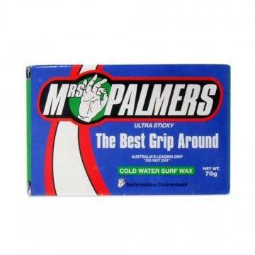 Mrs Palmers Cold Water Surfboard Wax