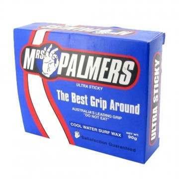 Mrs Palmers Cool Water Surfboard Wax