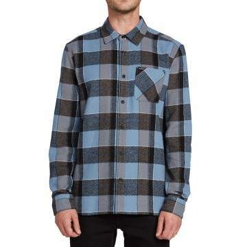 Volcom Neo Glitch Shirt Blue Rinse