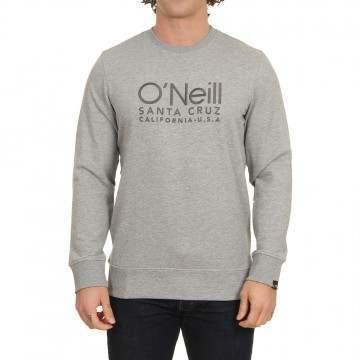 ONeill Logo Crew Silver Melee
