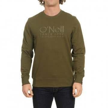 ONeill Logo Crew Winter Moss