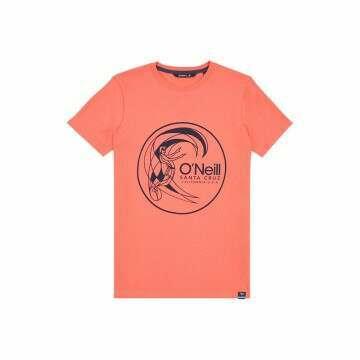 ONeill Boys Circle Surfer Tee Mandarin