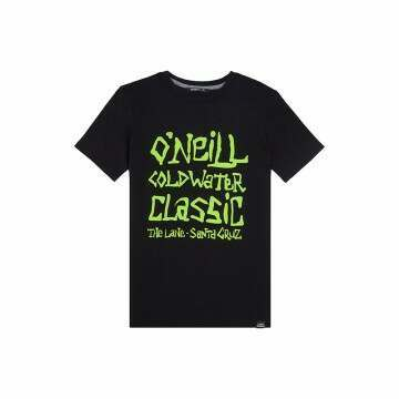 ONeill Boys Cold Water Tee Black Out