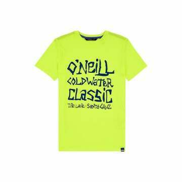 ONeill Boys Cold Water Tee Safety Yellow