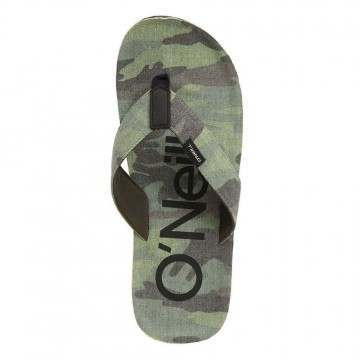 ONeill Chad Fabric Sandals Green AOP