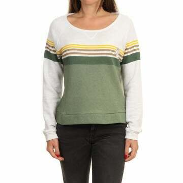 ONeill Heather Crew Green AOP