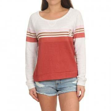 ONeill Heather Crew Red AOP