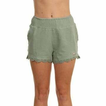 ONeill Azalea Drapey Shorts Lily Pad