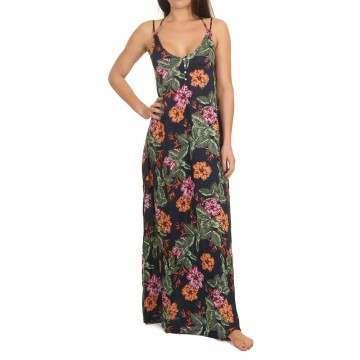 Oneill Belinda Long Dress Blue/Pink