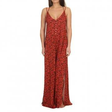 ONeill Belinda Long Dress Red/Black