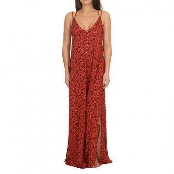 ONeill Belinda Long Dress Red/Black