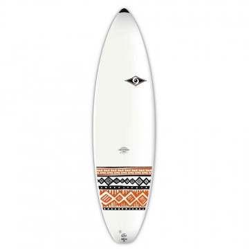 Bic Shortboard Surfboard 6ft 7 Orange