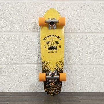 Globe Bantam Evo Skateboard 24 Inch Yellow/Blue