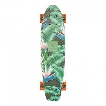 Globe Surf Glass Skateboard Waikiki Black