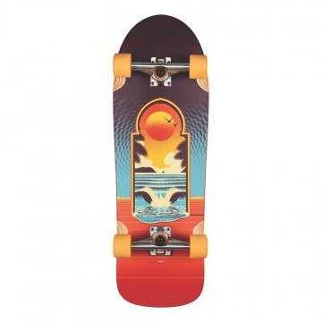 Globe Aperture Skateboard Cult Of Freedom Portal