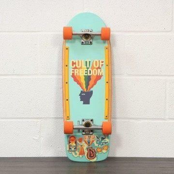 Globe Burner Skateboard Cult Of Freedom Explode