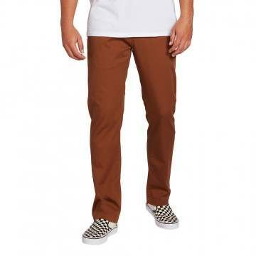 Volcom Fricken Modern Stretch Chino Bison