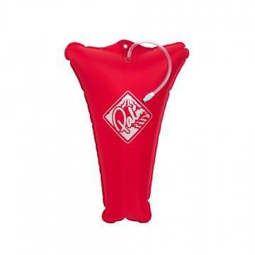 Palm Kayak Float Bag Heavy Weight Red 15L