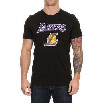 New Era Los Angeles Lakers Tee Black