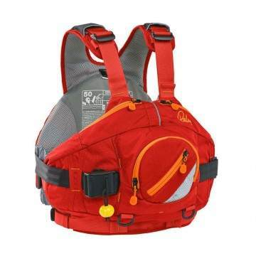 Palm Amp White Water Buoyancy Aid Red