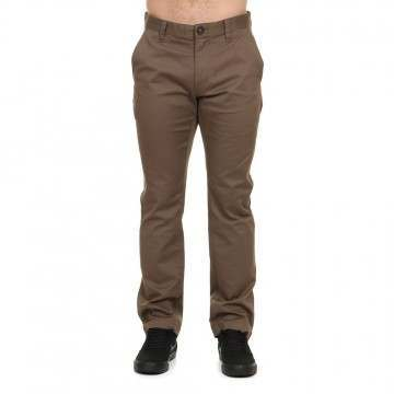 Volcom Fricken Modern Stretch Pants Mushroom