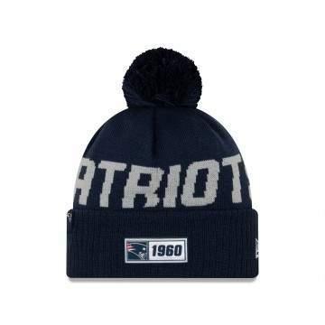 New Era New England Patriot Sport Knit Beanie Navy