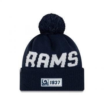 New Era Los Angeles Rams Sport Knit Beanie Navy