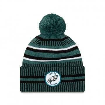 New Era Philadelphia Eagles Bobble Knit Beanie OTC