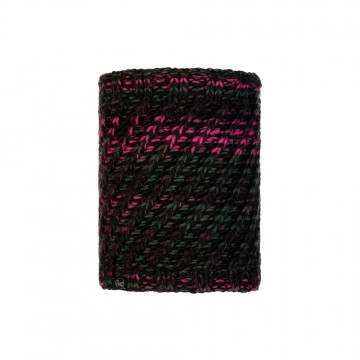 Buff Valya Knitted Neckwarmer Black